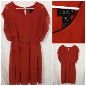Enfocus women sleeveless dress size 16W